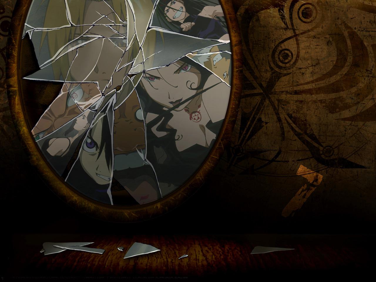 Full metal alchemist for Miroir wallpaper